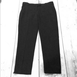 Theory black admiral crepe pants